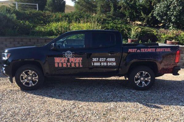 Best Pest Control truck Cheyenne WY